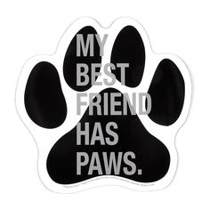 'Best Friend' Auto Magnet from Animal Hearted Apparel25% of sales donated to KCZD coupon code for 10% off: KARMACATZENDOG