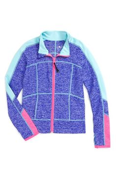 Free shipping and returns on Zella Girl Colorblock Jacket (Little Girls & Big Girls) at Nordstrom.com. Vibrant color blocking energizes a bold jacket cut from lightweight stretch fabric to provide superior breathability and sporty style.