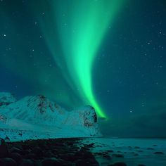 Let's all thank Huckberry Ambassador @chrisburkard for leaving The Northern Lights on for us #seeyououtthere