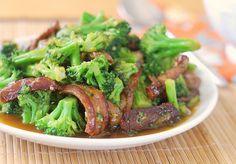 Orange Beef & Broccoli from @Amanda Livesay - Fake Ginger