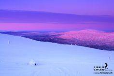 Winter in the municipality of Kittilä, Finnish Lapland. Photo by Levi Tourist Office. #filmlapland #arcticshooting #finlandlapland