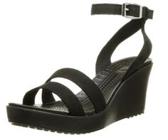 Crocs Women's Leigh Wedge Sandal  I'm also considering these from Crocs- Leigh Wedge. Come straight off the beach and hit the street in style with the Crocs™ Leigh Wedge. - Ricki Jean Rodriguez