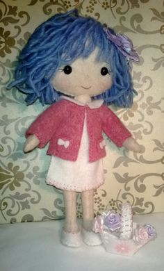 Gingermelon pocket poppet Doll by Gwendollys