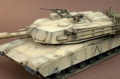 M1A1 Abrams 1/35 Scale Model