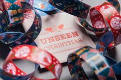 Festive paper chains reveal modern slavery stories for Unseen Christmas campaign   Creative Boom