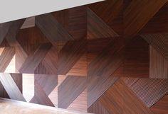 Wood Wall Panel, Wooden Wallcovering, Wood Feature Wall, Interior Wall Panels, Wood Walls, Wall Ideas