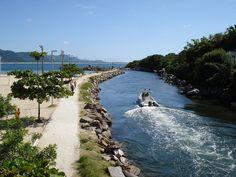 Farol Barra com Piscinas Naturais. Florianópolis SC