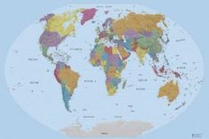This just might be the world map ive been looking for home this just might be the world map ive been looking for home pinterest wall maps green cream and walls gumiabroncs Images