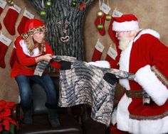 Nice try, Santa..... Prois is for women....  Hope everyone has had a wonderful Christmas! www.proishunting.com