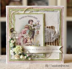 A Friendship card by talented Annica for Pion Design.