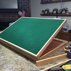 Check out this project on RYOBI Nation - My dad loves puzzles, but due to his…