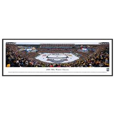 Boston Bruins Hockey Arena 2016 Winter Classic Framed Wall Art, Multicolor