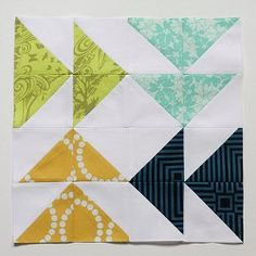 Fast Forward #Quilt Block tutorial by Jeni Baker from In Color Order