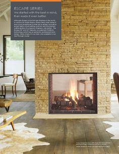 "see thru fireplace | Heat & Glo 42"" See Through Fireplace"