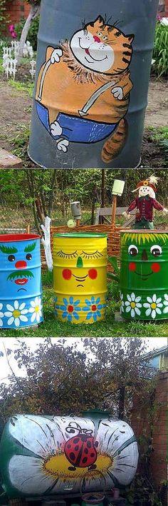 декор бочки для воды фото: 7 тыс изображений найдено в Яндекс.Картинках