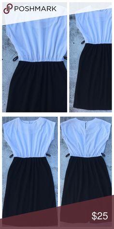 VINTAGE 80s Secretary Dress Length: Bust: Waist: Vintage Dresses Midi
