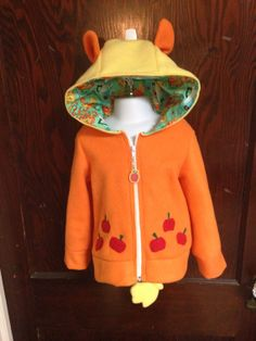 My Little Pony Applejack Hoodie Size 3T by thugcorpseinc on Etsy