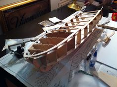 Building my 60's Chris Craft Sterling model boat