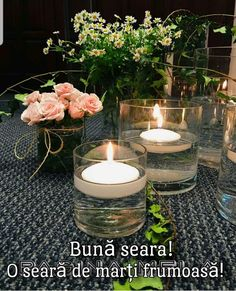 Tea Lights, Candles, Table Decorations, Nyc, Home Decor, Summer, Decoration Home, Summer Time, Room Decor
