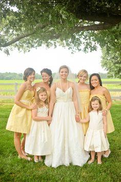 Yellow-Bridesmaids