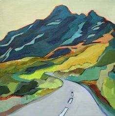 Google Image Result for http://cdn.dailypainters.com/paintings/daily_painting_highway_into_the_mountains_contemporary_acrylic_landscape_55b9182d2073662fe605efb626d06042.jpg