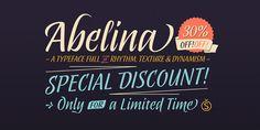 Abelina - Webfont & Desktop font « MyFonts