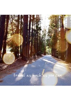 Travel as much as you can - ❤️  © by Hannah Backes  #travel#california#travelinspiration#westcoast#quotes