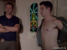 Nick Jonas showed off his acting skills and abs during a recent appearance on 'Hawaii Five-O'.