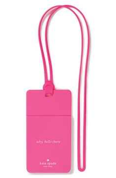kate spade new york 'why hello there' id holder | Nordstrom