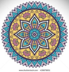 Find Flower Mandalas Vintage Decorative Elements Oriental stock images in HD and millions of other royalty-free stock photos, illustrations and vectors in the Shutterstock collection. Mandala Design, Mandala Art, Circle Mandala, Indian Mandala, Mandala Drawing, Mandala Pattern, Mandala Indio, Coloring Books, Coloring Pages