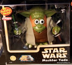 Master Yoda and other Star Wars Mr. Potato Heads! Click through to see all 5...(including C3PotatO) :-)
