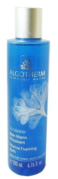 Le #bain marin moussant ALGOLIGO d'ALGOTHERM, est un produit douceur pour une douche #relaxante.