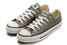224bf0521f394e Converse All Star Ox Charcoal White