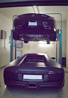 I wish I had the kind of problems that caused me to need a car lift for storage.