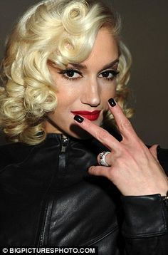 Love the hair, makeup and nails!