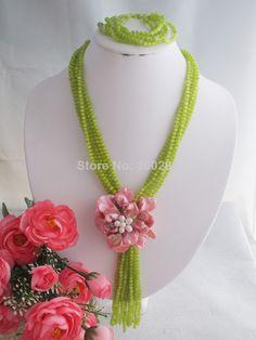 Free Shipping !!!W-1393 Splendid African Beaded Crystal Jewelry Set African Agate Beads Jewelry Set for Wedding 2014 NEW $58.69