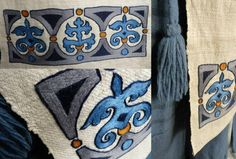 Viking embroidery detail
