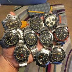 Try something different for my 1000th IG post!! 10 pieces is max for me  my hand is still painful!! Anyway, thanks you guys all time support and like  #rolex #rarerolex #rolexgtg #rolexpassion #rolexvintage #vintagerolex #vintagewatches #submariner #BigCrown #rolexgmt #seadweller #drsd #tropicaldial #daytona #paulnewman #comex #milsub #milgauss #squarecrownguard #eaglebeak #rolexexplorer #explorerdial #rolexbigcrown #panda #rolexpaulnewman