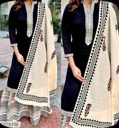 Pakistani Salwar Kameez, Anarkali, Lehenga, Sharara, Black Kurti, Embroidery Designs, Party Wear Indian Dresses, Latest Kurti, Printed Kurti