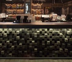 design inspirations for your luxury bar. Deco Restaurant, Restaurant Concept, Restaurant Design, Cafe Interior Design, Cafe Design, Interior Design Inspiration, Loft Cafe, Container Bar, Luxury Bar