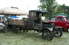 1919 Ford Model TT, the heavy-duty truck version of the Model T.