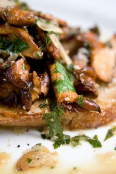 Chanterelles on Toast Recipe - NYT Cooking