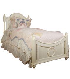 3/3 Twin Poster Bed