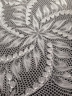 Various Patterns In Lace Knitting lace knitting patterns advanced lace knitting pattern. to learn lace knitting, go to http:// uqdrqbo Lace Knitting Stitches, Bamboo Knitting Needles, Lace Knitting Patterns, Doily Patterns, Hand Knitting, Knitting Machine, Filet Crochet, Crochet Shawl, Knit Crochet