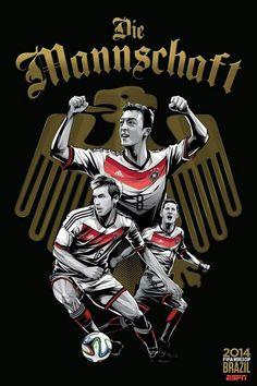 Brasil 2014 - Alemanha (Deutschland)