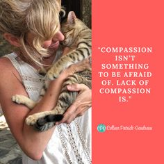 Compassion isn't something to be afraid of. Lack of compassion is. Vegan Quotes, Vegan Animals, Animal Cruelty, Animal Welfare, Animal Rights, Going Vegan, Compassion, Cruelty Free, Life Lessons