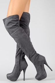 Lorane-41A+Suede+Stiletto+Thigh+High+Boot