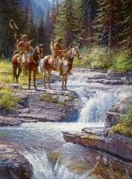 Native american paintings martin grelle