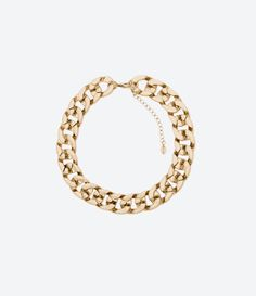 Chain Link Necklace from Zara Women Accessories, Jewelry Accessories, Fashion Accessories, Women Jewelry, Zara New, Zara Women, Costume Jewelry, Jewelry Box, Jewels