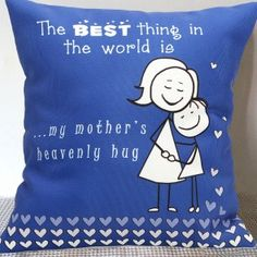 Send Gifts for Mother Online Brown Cushions, Small Cushions, Online Gift Store, Online Gifts, Small Cushion Covers, Body Craft, Red Carnation, Personalised Cushions, Mother Gifts